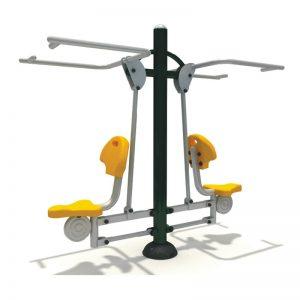 Buiten Fitness toestellen