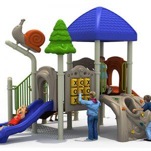 Speeltoren met klimberg