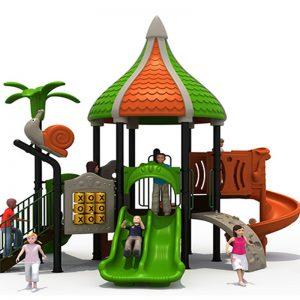 Oosterse tempel speeltuin