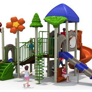 Speeltoren met klimspiraal