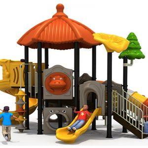 Oosterse hut speeltuin