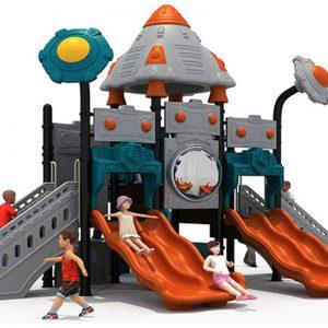 Space kasteel speeltuin