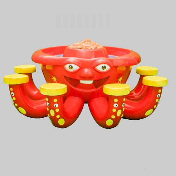 Octopus zandtafel