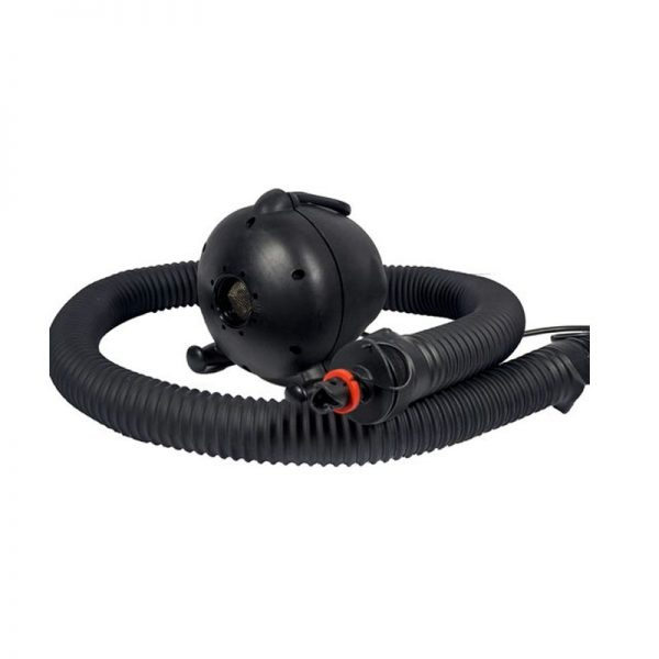 Sealed inflatable blower