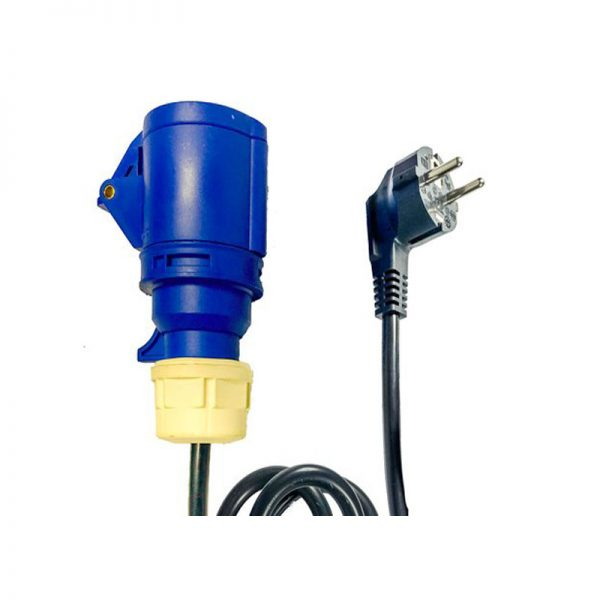 Inflatable blower power cable EU plug