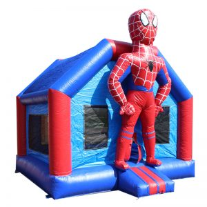 Spiderman springkasteel